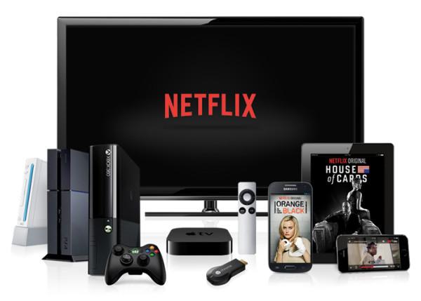 Netflix, partout
