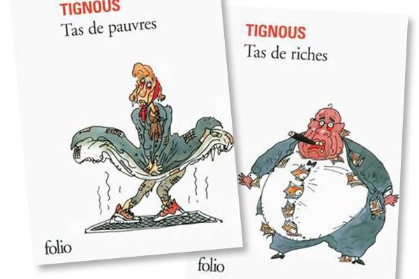 tas de riche tas de pauvres Tignous