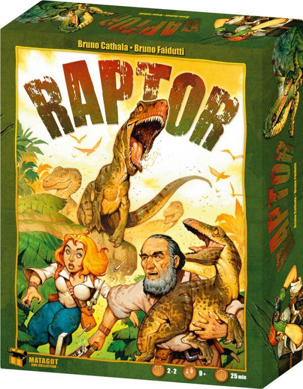 Raptor, Une expédition signée «Initials BB»