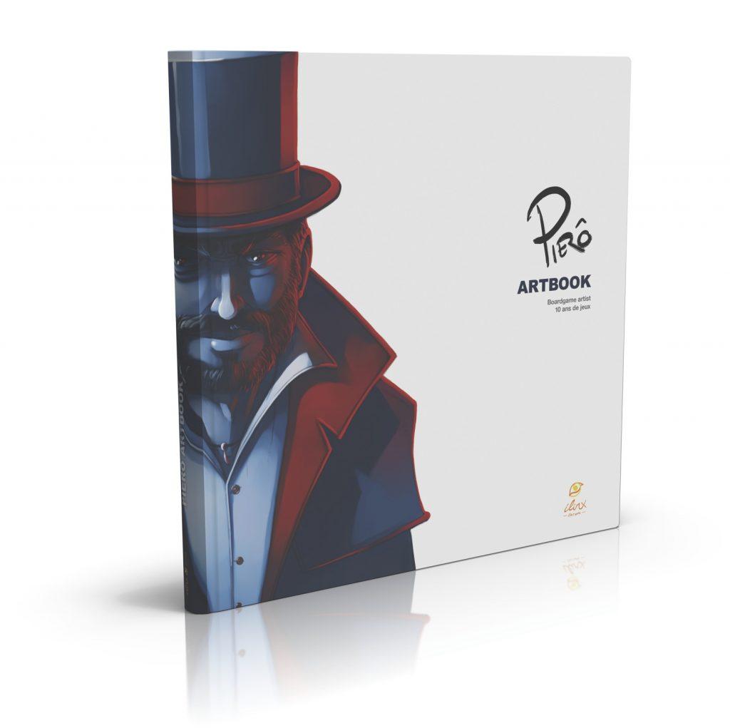 Pierô ARTBOOK : le beau-livre dédié à un illustrateur de jeux de société