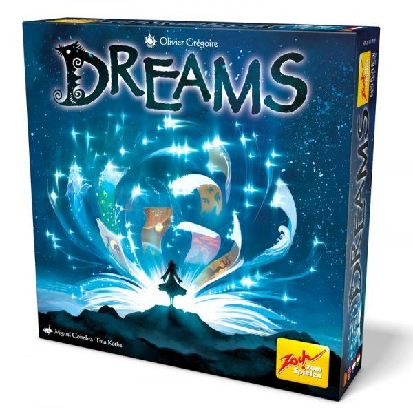 Dreams, le jeu de société