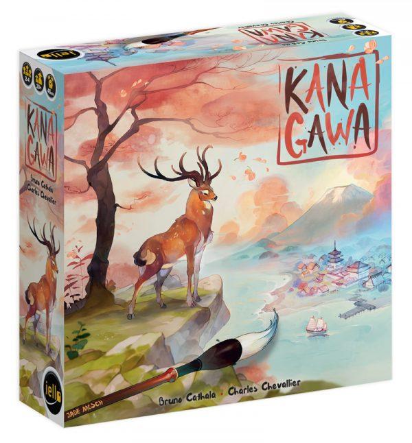 Boite de jeu Kanagawa