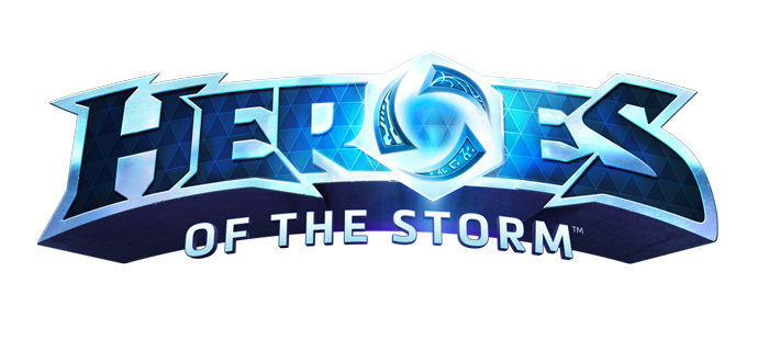 Heroes of the Storm Logo Blizzard