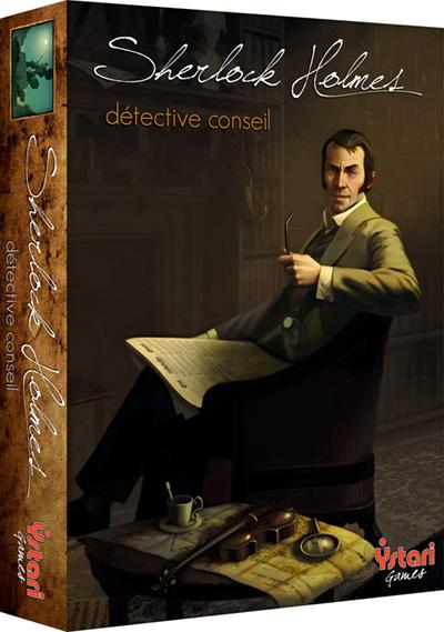 Sherlock Holmes Détective conseil Ystari
