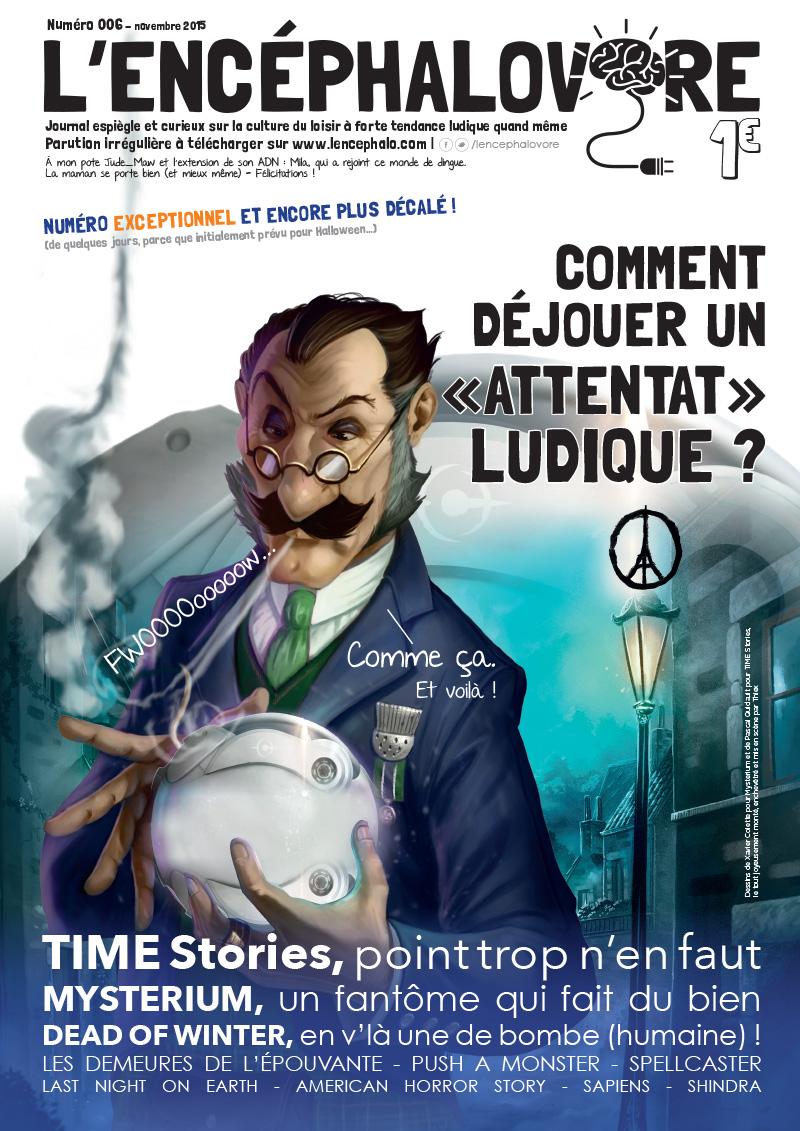 L'encéphalovore 6, magazine de jeux de société, est disponible !