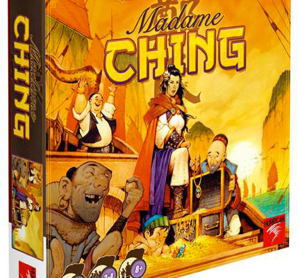 Madame Ching, jeu de plateau