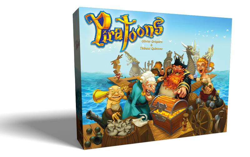 Piratoons, jeu de société