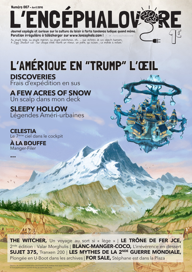 L'encéphalovore 7, magazine de jeux de société, est disponible !