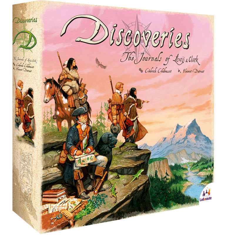Discoveries boite de jeu