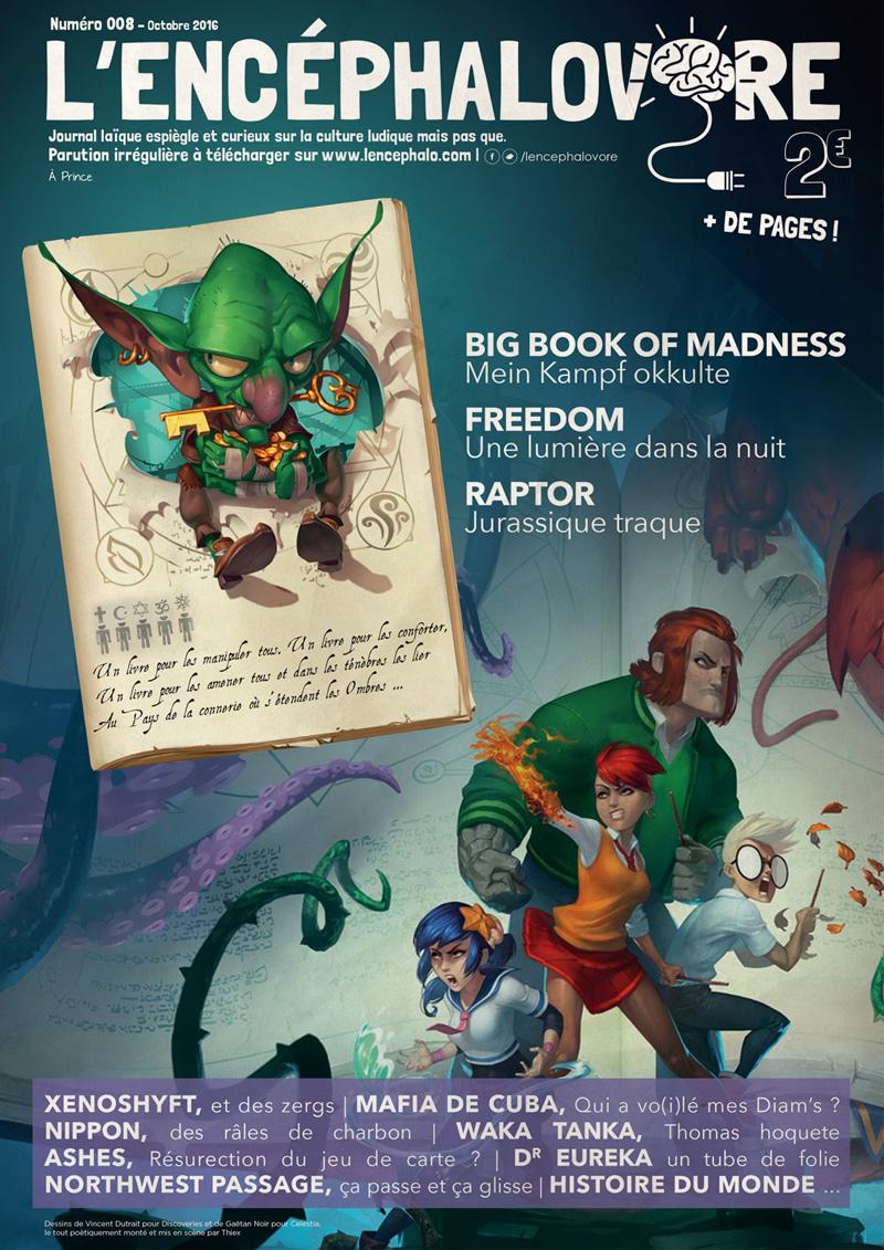 L'encéphalovore 8, magazine de jeux de société, est disponible !