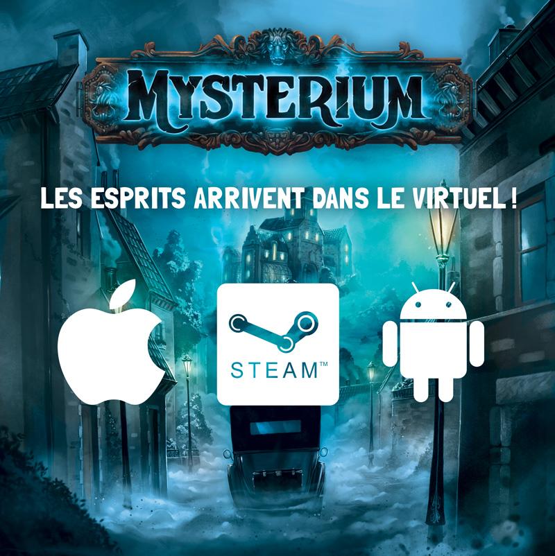 Mysterium, l'application en décembre