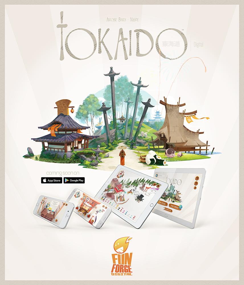 Tokaido, enfin disponible sur tablette et smartphone !