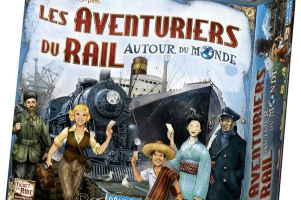 boite les aventuriers du rail, autour du monde