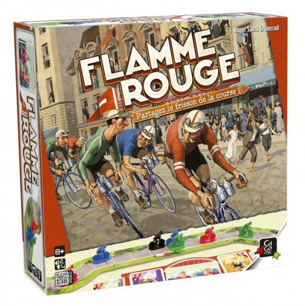 Flamme rouge, boite