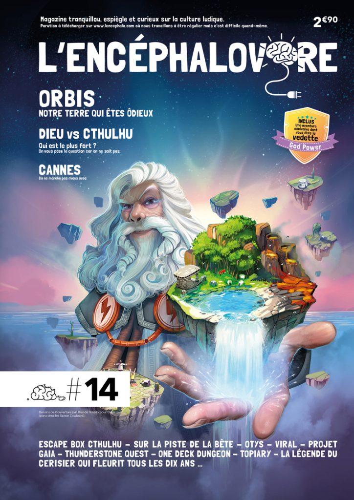 L'Encéphalovore 14, magazine de jeux de société, est disponible !