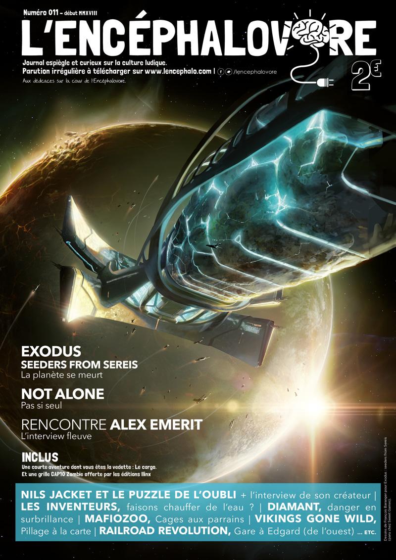 L'encéphalovore 11, magazine de jeux de société, est disponible !