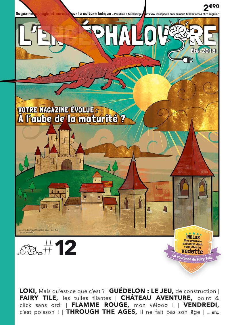 L'Encéphalovore 12, magazine de jeux de société, est disponible !